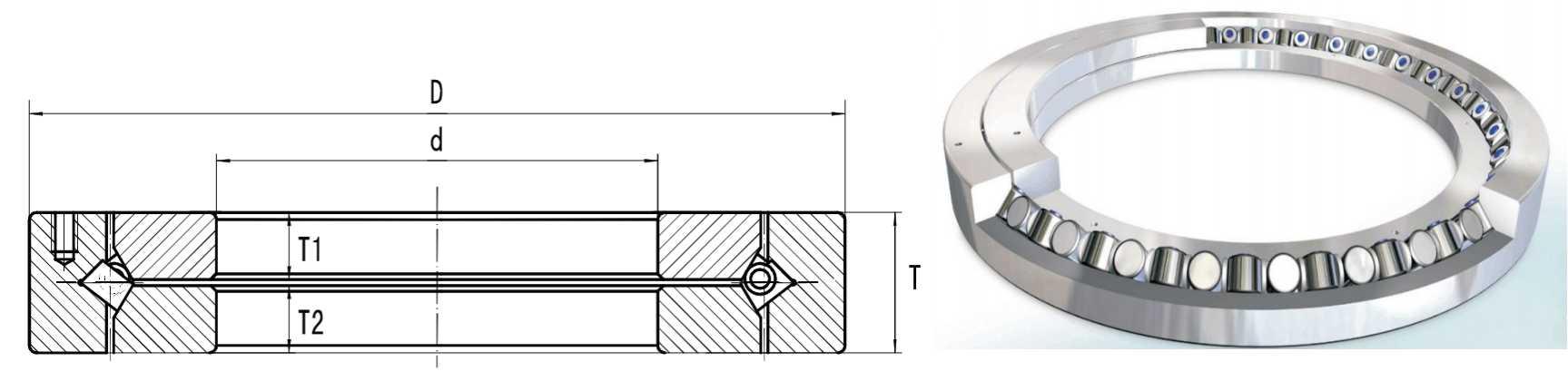 XR/JR Series Crossed Roller Bearing