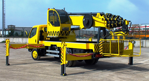 crane loading platform