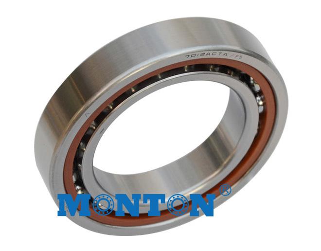 7212AC/P4DBB 60*110*22mm Single Row Super Precision Angular Contact Bearings