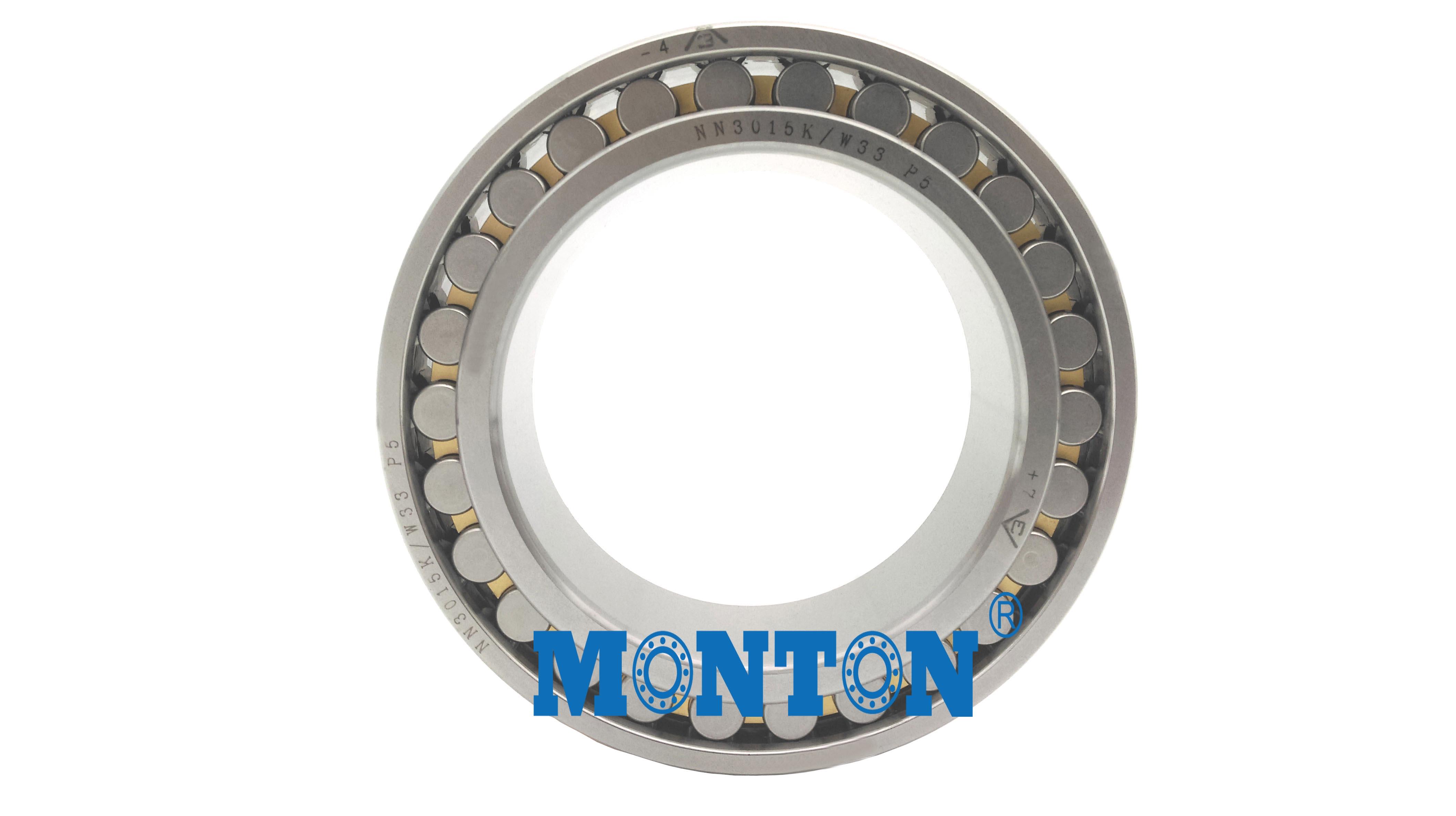 NN3015KW33/P5  Cylindrical Roller Bearings Machine Tool Spindle Bearings