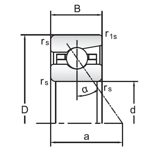 72 Series Angular Contact Ball Bearings