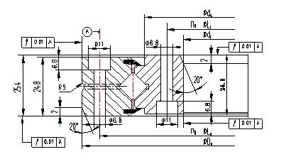 XSU series Crossed Roller Bearing