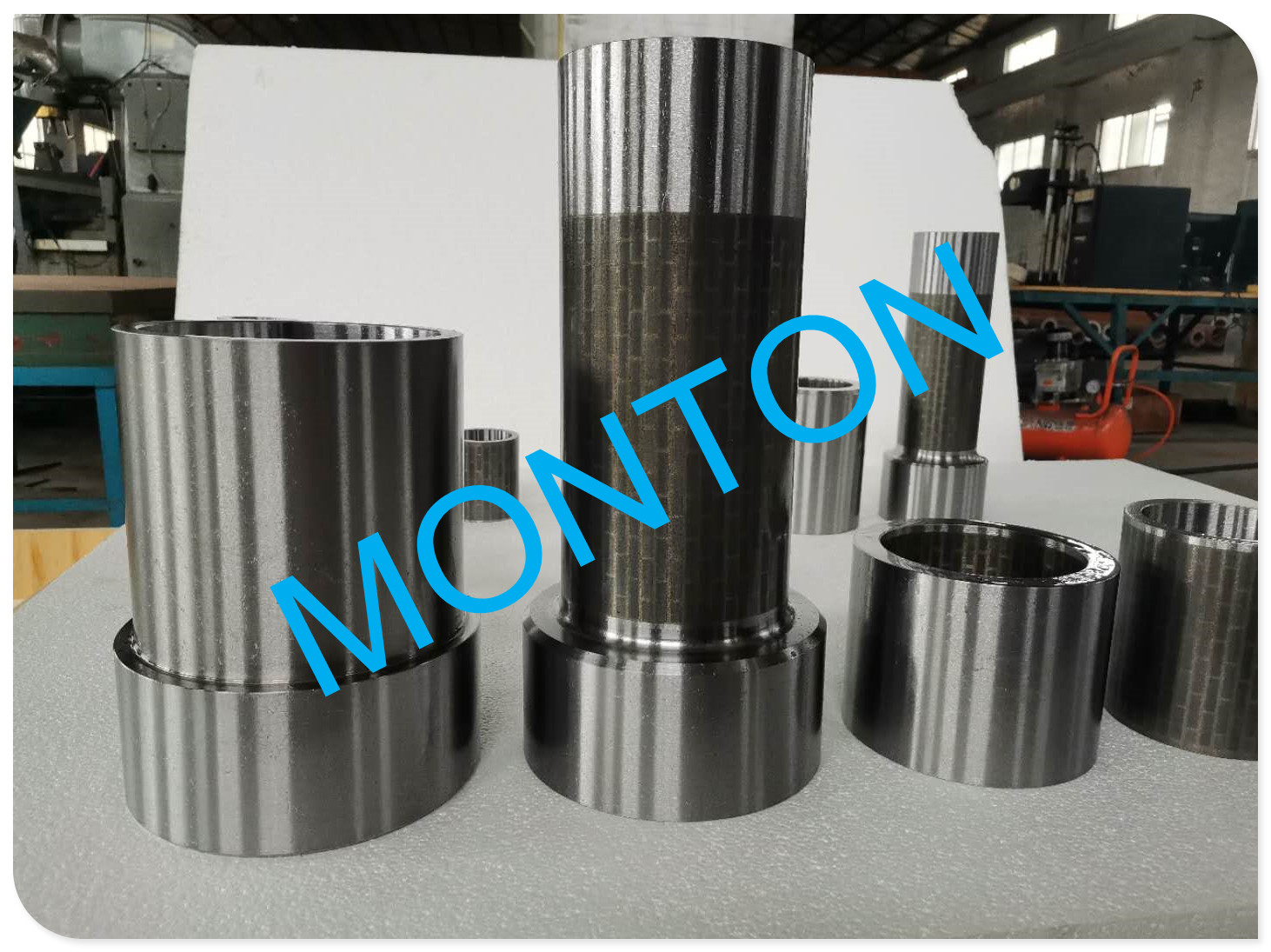 Hard alloy outer top Radial bearing for downhole drilling motors bearings